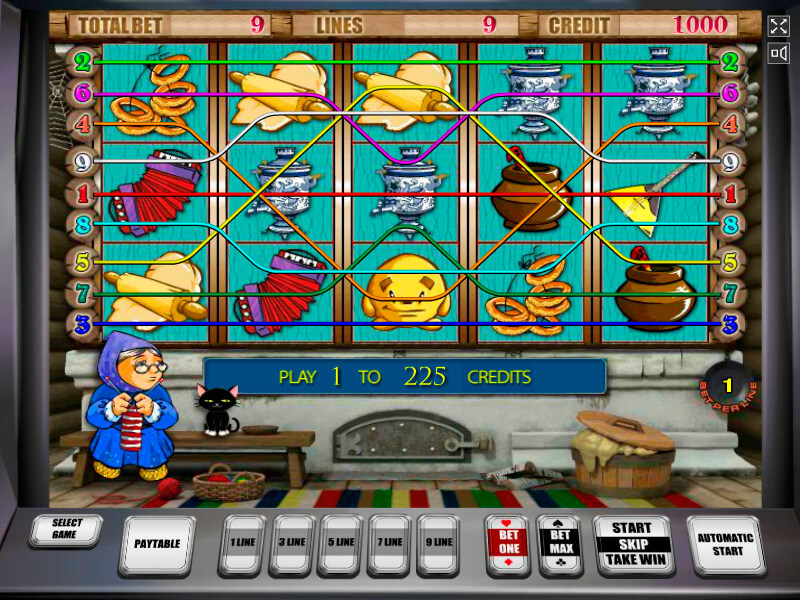 Gaminator slot games